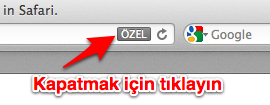 Sihirli elma ozel dolasma private browsing 6