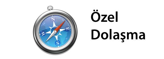 Sihirli elma ozel dolasma private browsing banner