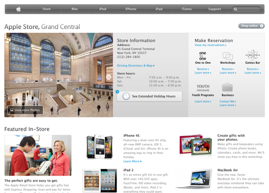 Apple store grand central station 1