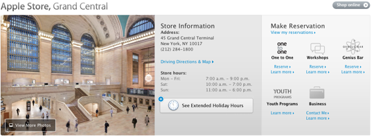 Apple store grand central station 1a