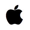 Sihirli elma ozel karakter apple logo