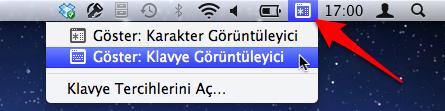 Sihirli elma ozel karakter klavye goruntuleyici 1