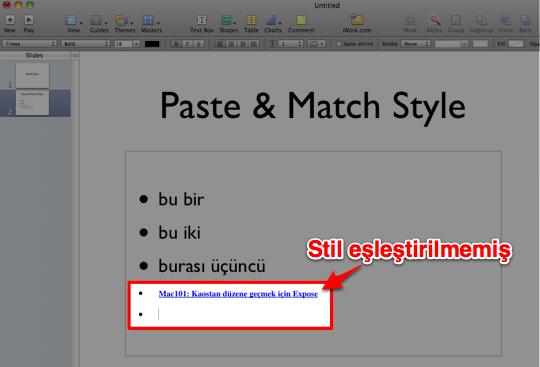 Paste Match Style 2a