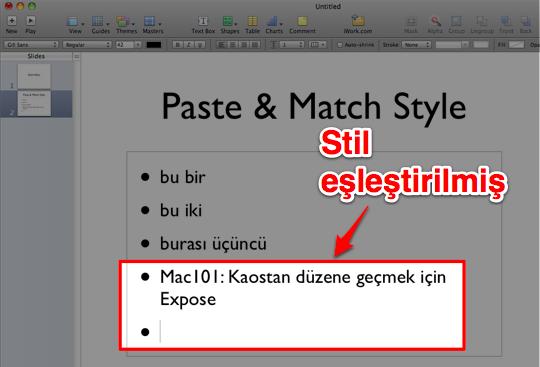 Paste Match Style 3a