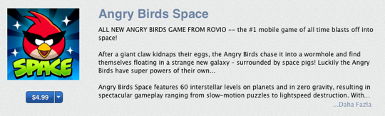 Sihirli elma angry birds space 2a