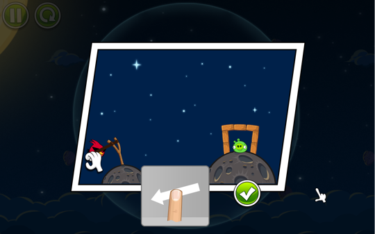 Sihirli elma angry birds space 3a