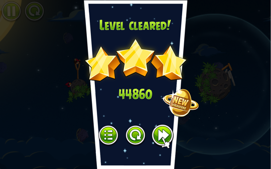Sihirli elma angry birds space 7a