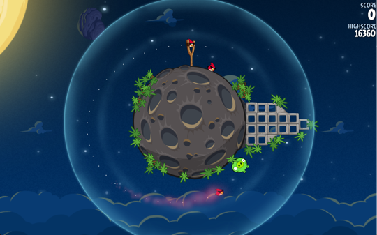 Sihirli elma angry birds space 8a