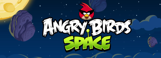 Sihirli elma angry birds space banner