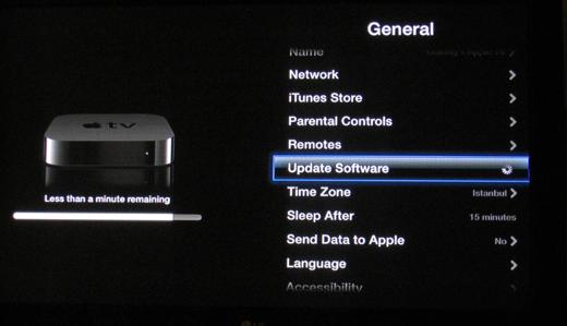 Sihirli elma apple tv update 2a