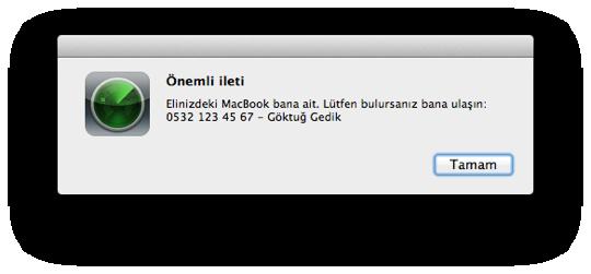 Sihirli elma macimi bul find my mac 13