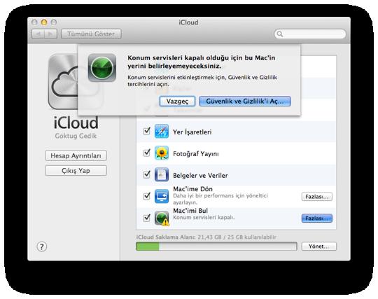 Sihirli elma macimi bul find my mac 3