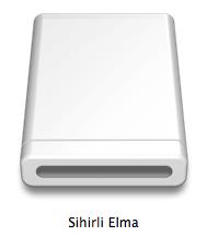 Sihirli elma windows mac disk ntfs exfat fat 3