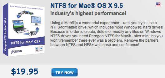 Sihirli elma windows mac disk ntfs exfat fat 9 paragon