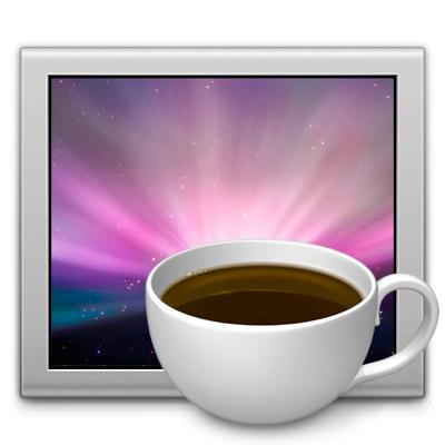 Sihirli elma caffeine logo