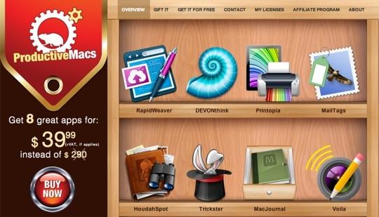 Sihirli elma bundle productive macs 1