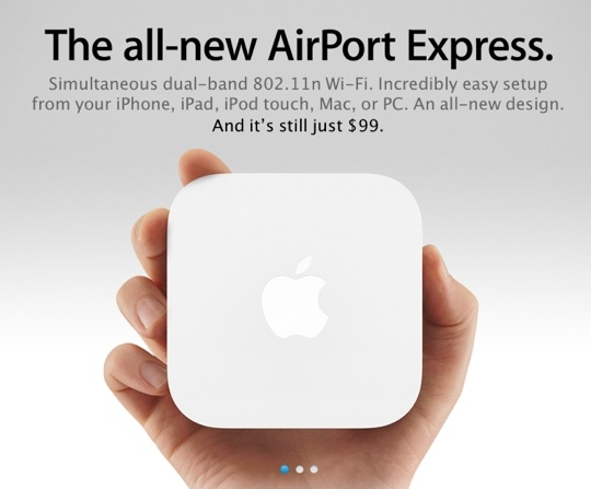Sihirli elma wwdc yenileme urun 10 airport express