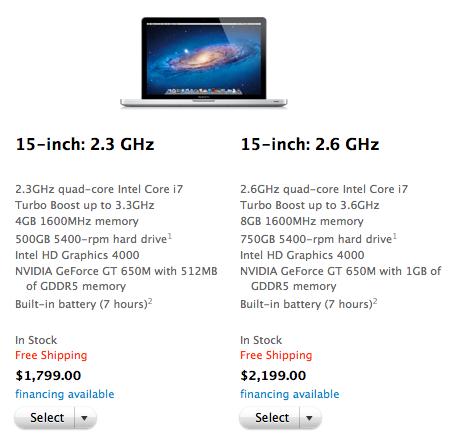 Sihirli elma wwdc yenileme urun 4 macbook pro 15