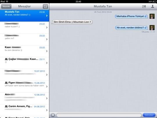 Mountain lion mesajlar icloud twitter 2