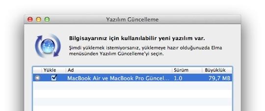 Sihirli elma 2012 macbook air pro guncelleme 1