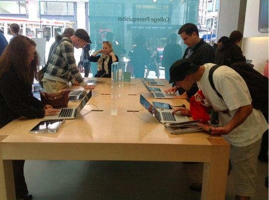 Sihirli elma apple store deneyimi 10