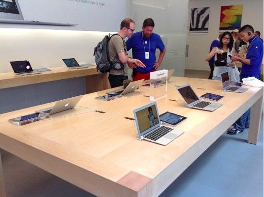 Sihirli elma apple store deneyimi 4