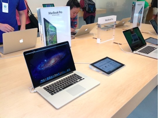 Sihirli elma apple store deneyimi macbook pro