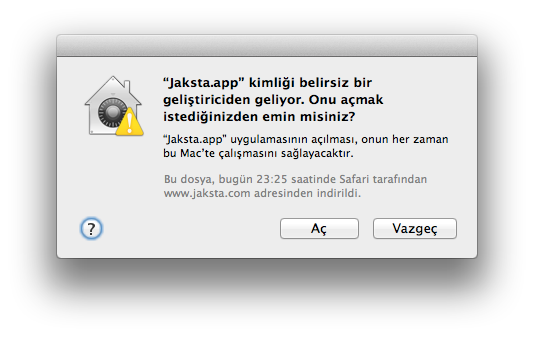 Sihirli elma mountain lion airplay yansitma gatekeeper paylasim 15