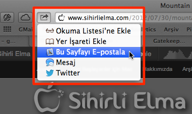 Sihirli elma mountain lion airplay yansitma gatekeeper paylasim 18