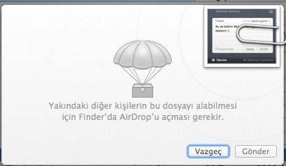 Sihirli elma mountain lion airplay yansitma gatekeeper paylasim 20b