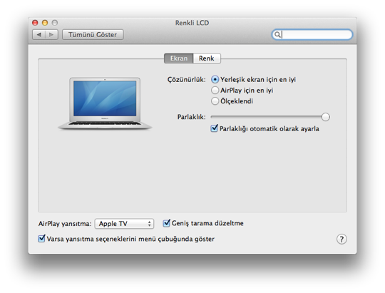Sihirli elma mountain lion airplay yansitma gatekeeper paylasim 5