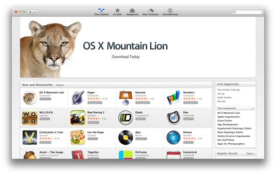 Sihirli elma mountain lion cikti mac app store 1a