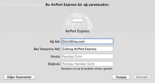 Sihirli elma airport express 18