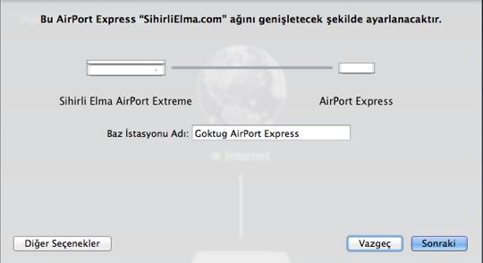 Sihirli elma airport express 26