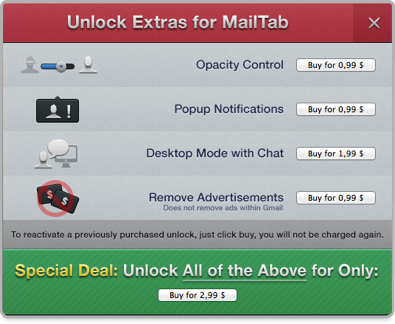 Sihirli elma mailtab for gmail 9