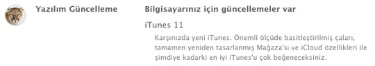Sihirli elma itunes 11 1