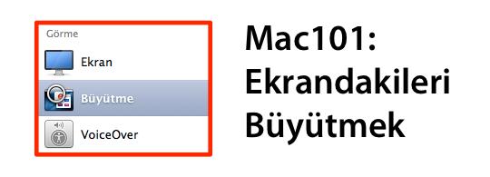 Sihirli elma mac ekran buyutmek yakinlasmak zoom banner