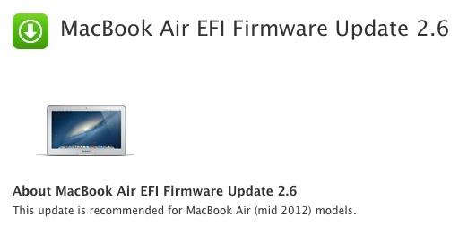 Sihirli elma macbook air 2012 efi guncelleme 4