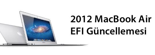 Sihirli elma macbook air 2012 efi guncelleme banner