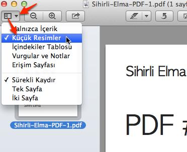 Sihirli elma PDF birlestirmek 3