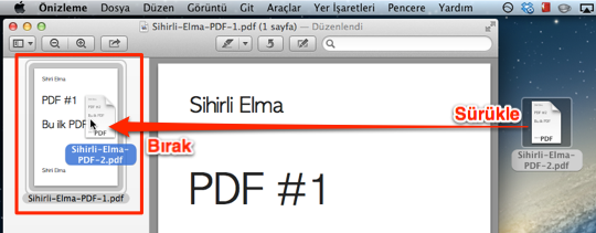 Sihirli elma PDF birlestirmek 4