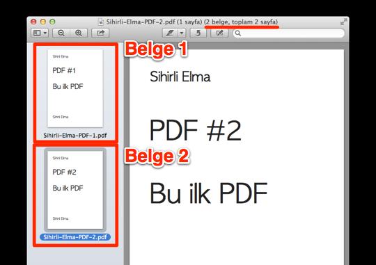 Sihirli elma PDF birlestirmek 5