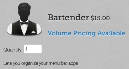 Sihirli elma bartender kalabalik menu cubugu 10