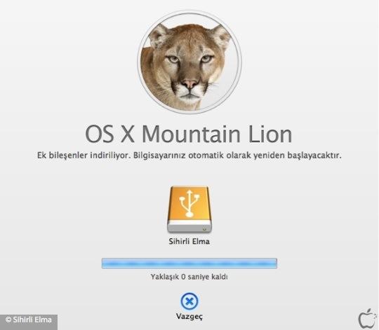 Sihirli elma yeni mac mountain lion yukleme diski yaratmak 10 watermarked