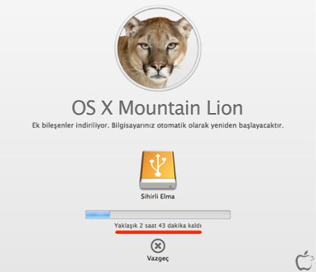 Sihirli elma yeni mac mountain lion yukleme diski yaratmak 1 watermarked