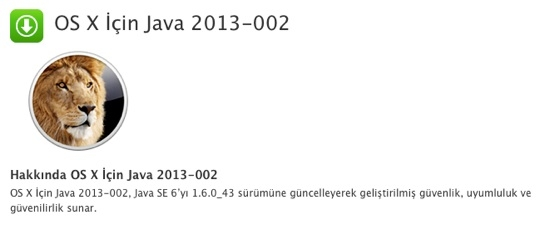 Sihirli elma java guvenlik guncelleme 2013 002 1