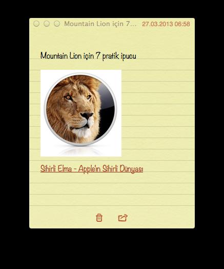 Sihirli elma mountain lion 7 pratik ipucu 3 notlar
