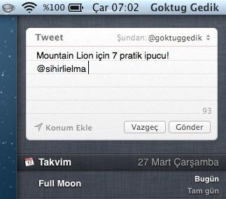 Sihirli elma mountain lion 7 pratik ipucu 6 bildirim facebook twitter