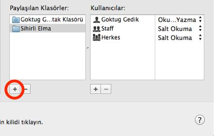 Sihirli elma mac windows dosya paylasimi 3