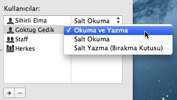 Sihirli elma mac windows dosya paylasimi 6